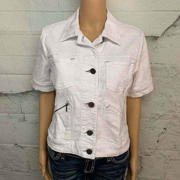 CAbi Jackets & Blazers - CABI Jeans White Jacket